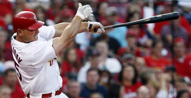 Matt Holliday Swinging